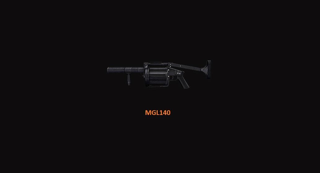Launcher Granat MGL140