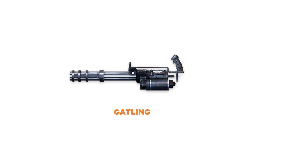 Machine Gun Gatling