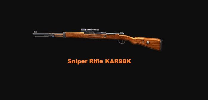 Sniper Rifle KAR98K
