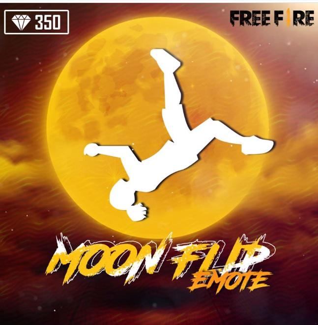 Emote Moon Flip Free Fire