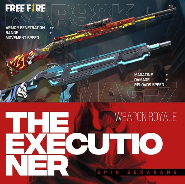 Kar98k dan MAG-7 The Executioner